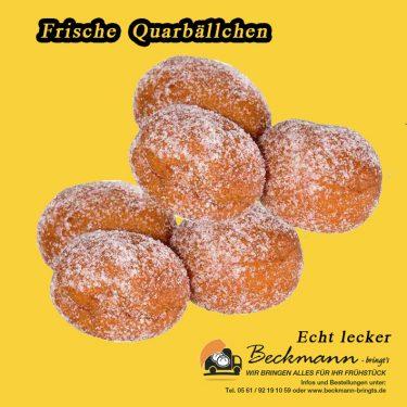 Qurkbällchen, Beckmann-bringts.de
