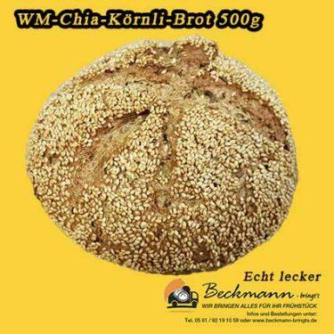 Chia WM Brot Brötchenbringdienst